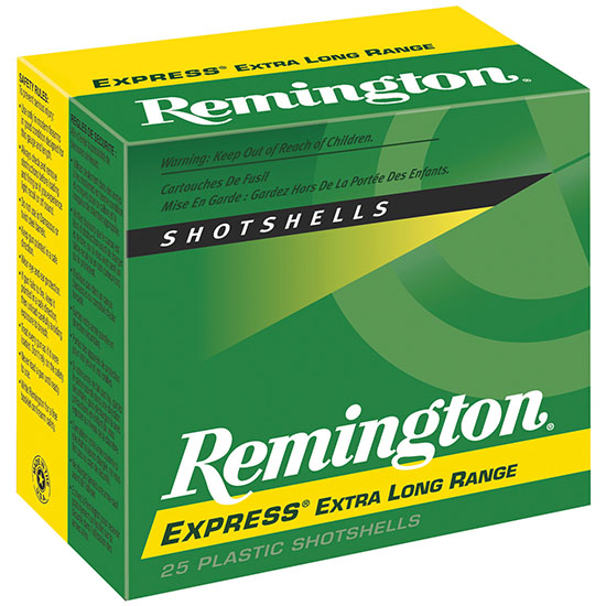 Rem SP124 Express Shotshells 12 ga 2.75 1-1|4oz 4 Shot 25Box|10Case in.