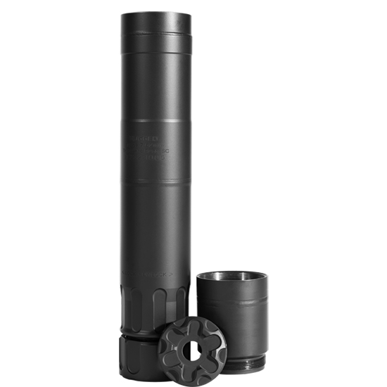 Rugged Suppressors Surge 7.62 Black 9-inch