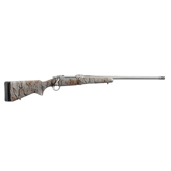 Ruger 47172 Hawkeye FTW Hunter Bolt 260 Remington 24 4+1 Laminate NaturalGear Natural Camo Stk Stainless Steel in.