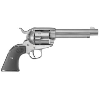 Ruger 5108 Vaquero Standard Single 357 Magnum 5.5 6 rd Rosewood Grip Stainless Steel in.