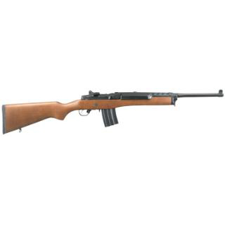 Ruger 5816 Mini-14 Ranch Semi-Automatic 223 Remington|5.56 NATO 18.5 20+1 Hardwood Stk Blued in.