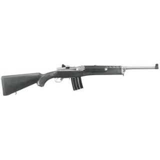 Ruger 5817 Mini-14 Ranch Semi-Automatic 223 Remington 5.56 NATO 18.5 20+1 Synthetic Black Stk Stainless Steel in.