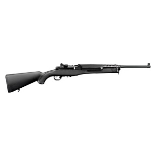 Ruger 5855 Mini-14 Ranch Semi-Automatic 223 Remington 5.56 NATO 18.5 5+1 Synthetic Black Stk Blued in.