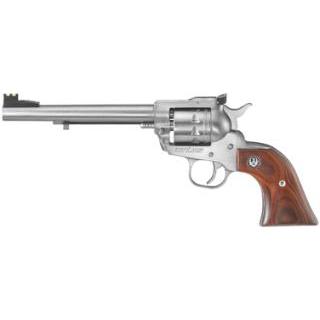Ruger 8150 Single-Nine Single 22 Winchester Magnum Rimfire (WMR) 6.5 9 rd Hardwood Grip Stainless Steel in.