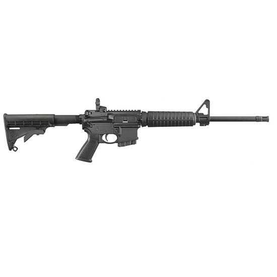 Ruger 8511 AR-556 Autoloading *CO|MD* Compliant Semi-Automatic 223 Remington|5.56 NATO 16.1 10+1 6-Position Black Stk Black Hard Coat Anodized in.