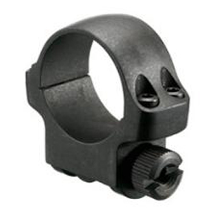 Ruger 90277 Clam Pack Single Ring Low 1 Diameter Hawkeye Matte Blued in.