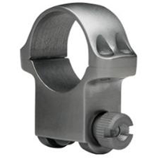 Ruger 90283 Clam Pack Single Ring High 1 Diameter Stainless in.