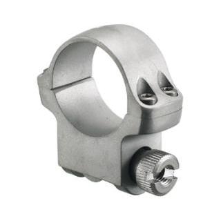 Ruger 90290 Clam Pack Single Ring Medium 1 Diameter Hawkeye Matte Stainless in.