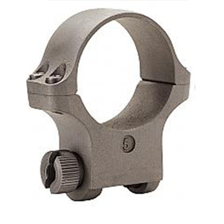 Ruger 90318 Clam Pack Single Ring Medium 30mm Diameter Hawkeye Matte Stainless