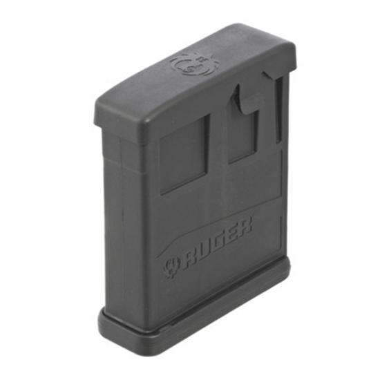 Ruger 90562 Precision 223 Remington|5.56 NATO 10 rd Precision|Gunsite Scout  Glass-Filled Nylon Black Finish