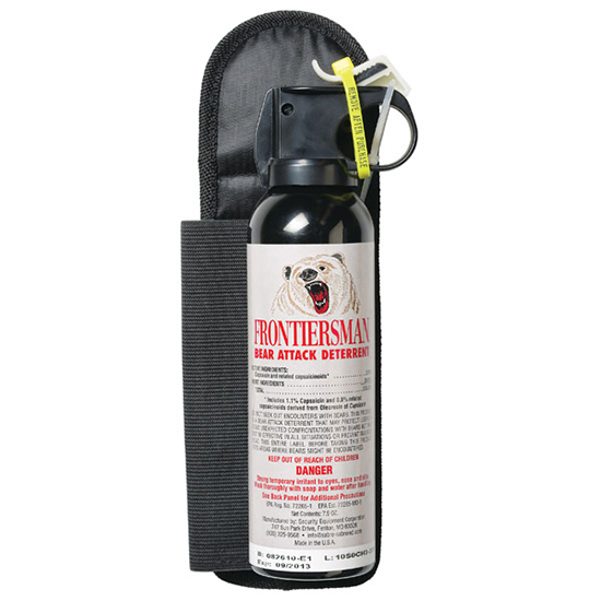 Sabre FrontierSMAN Bear Spray with HLST