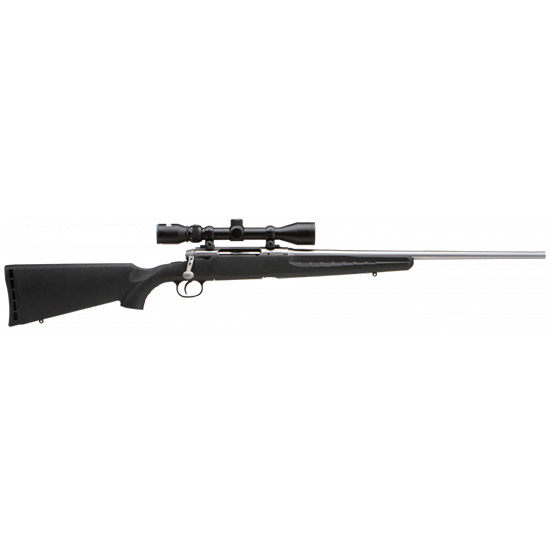 Savage 19181 Axis XP with Scope Bolt 30-06 Springfield 22 4+1 Synthetic Black Stk Stainless Steel in.