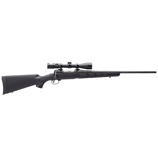 Savage 19691 11|111 Trophy Hunter XP Bolt 7mm Rem Mag 24 3+1 Synthetic Black Stk Black in.