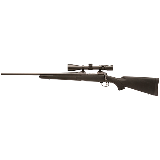 Savage 19696 11 Trophy Hunter XP LH Bolt 243 Win 22 4+1 Synthetic Black Stk Black in.
