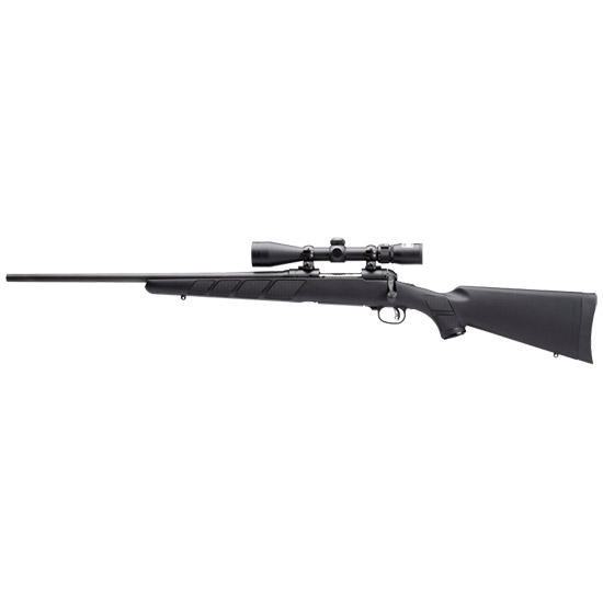 Savage 19706 111 Trophy Hunter XP LH Bolt 7mm Rem Mag 24 3+1 Syn Blk Stk Black in.