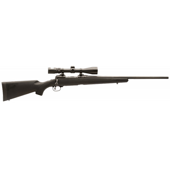 Savage 19708 11|111 Trophy Hunter XP Youth Bolt 243 Win 20 4+1 Synthetic Black Stk Black in.