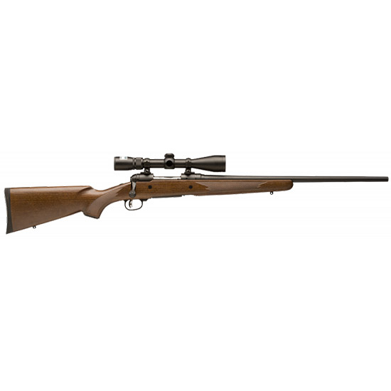 Savage 19716 10|110 Trophy Hunter XP Bolt 243 Win 22 4+1 Walnut Stk Black in.