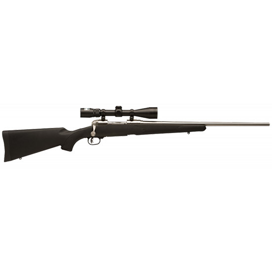 Savage 19736 16 116 Trophy Hunter XP Bolt 338 Win Mag 24 3+1 Synthetic Black Stk Stainless Steel in.
