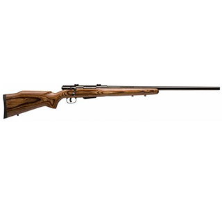 Savage 19738 25 Lightweight Varminter Bolt 17 Hornet 24 4+1 Laminate Brown Stk Blued in.
