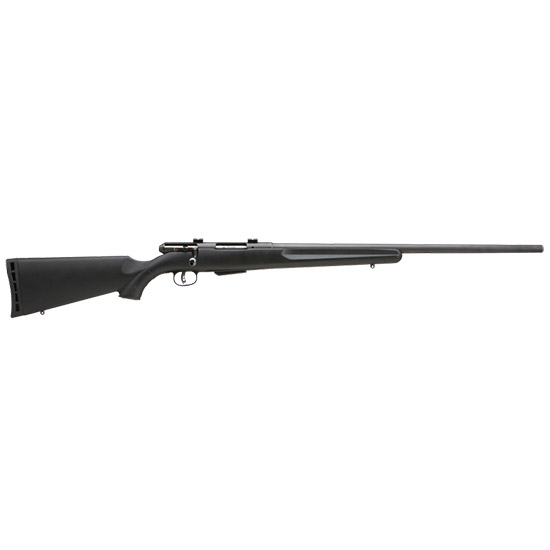 Savage 19740 25 Walking Varminter Bolt 17 Hornet 22 4+1 Synthetic Black Stk Black in.