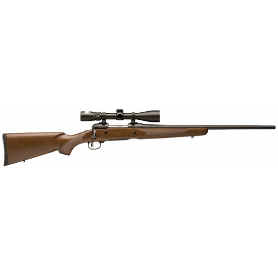 Savage 19793 10|110 Trophy Hunter XP Bolt 7mm Rem Mag 24 3+1 Walnut Stk Black in.