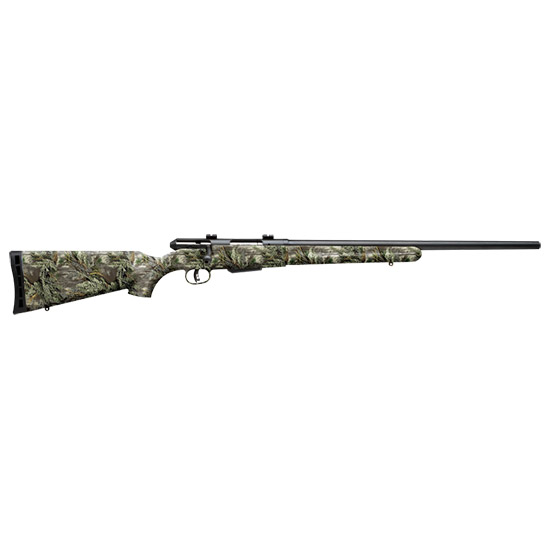 Savage 19980 25 Walking Varminter Bolt 223 Rem 22 4+1 Synthetic Realtree Xtra Green Stk Black in.