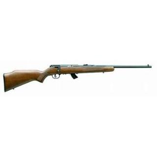 Savage 20700 Mark II G Bolt 22 Long Rifle 21 10+1 Walnut Stk Blued in.