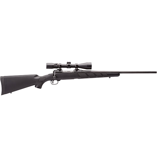Savage 22607 11 Hunter XP Bolt 338 Federal 22 2+1 Synthetic Black Stk Blued in.