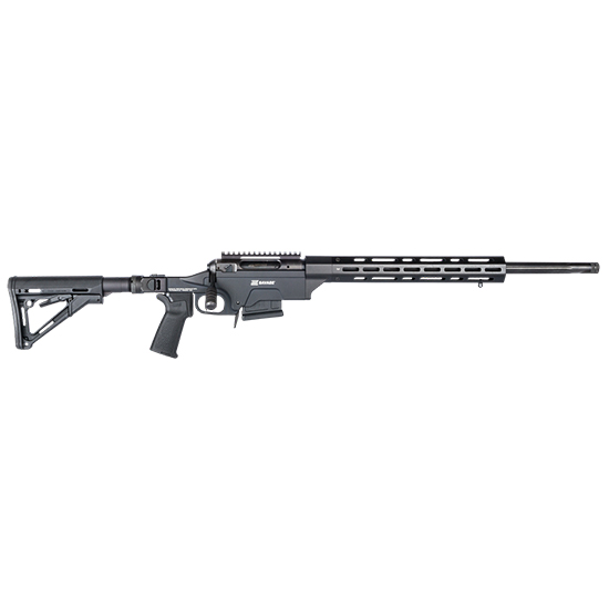 Savage 22631 10 Ashbury Precision Bolt 308 Winchester|7.62 NATO 24 5+1 Magpul MOE|Modular Chassis Black Stk Black in.