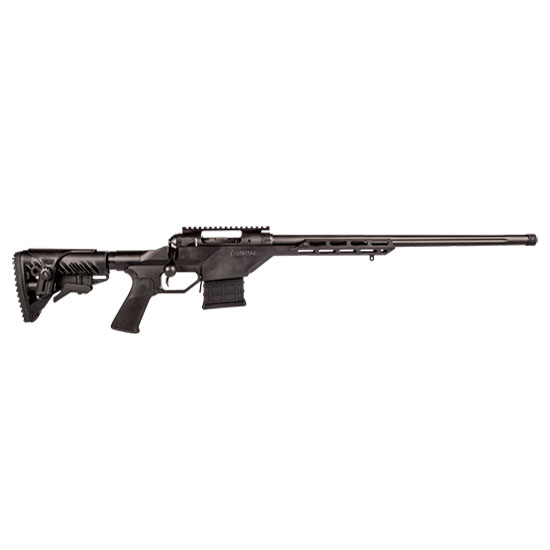 Savage 22637 10BA Stealth Bolt 308 Winchester|7.62 NATO 20 10+1 Synthetic|Aluminum Chassis Black Stk Black in.