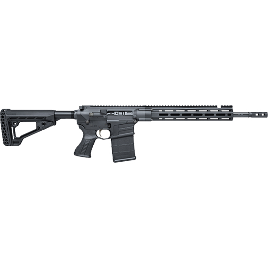 Savage 22903 MSR10 Hunter Semi-Automatic 6.5 Creedmoor 18 20+1 Aluminum Black Stk Black Hard Coat Anodized in.