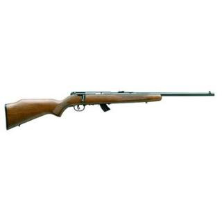 Savage 25725 Mark II BTVS Bolt 22 Long Rifle 21 5+1 Laminate Thumbhole Brown Stk Stainless Steel in.
