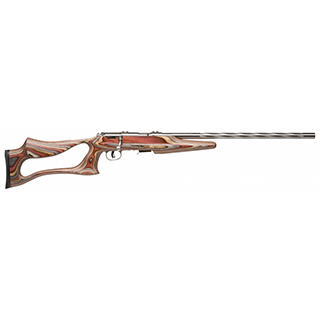 Savage 25740  Bolt 22 Long Rifle 21 Laminated Matte Stainless in.