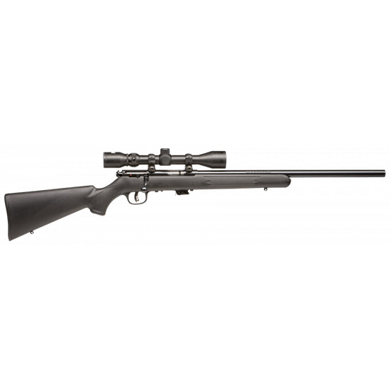 Savage 29200 Mark II FVXP with Scope Bolt 22 Long Rifle 21 5+1 Synthetic Black Stk Blued in.