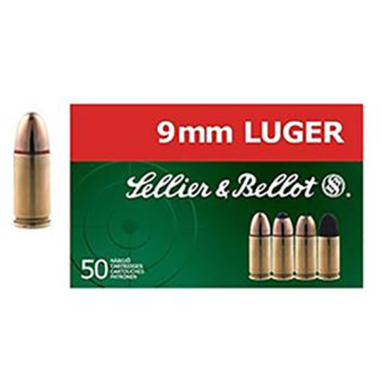 Sellier & Bellot SB9G Handgun 9mm 140 GR FMJ 50 Bx| 20 Cs