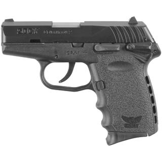 SCCY Industries CPX1CB CPX-1 Double 9mm 3.1 10+1 Black Polymer Grip|Frame Grip Black Nitride Stainless Steel in.