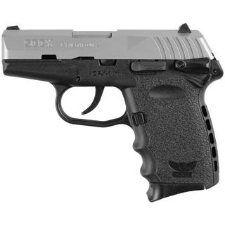SCCY Industries CPX1TT CPX-1 Double 9mm 3.1 10+1 Black Polymer Grip|Frame Grip Stainless Steel in.