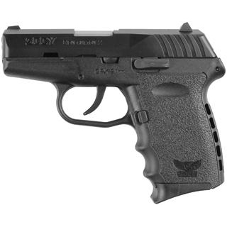 SCCY Industries CPX2CB CPX-2 Double 9mm 3.1 10+1 Black Polymer Grip|Frame Grip Black Nitride Stainless Steel in.