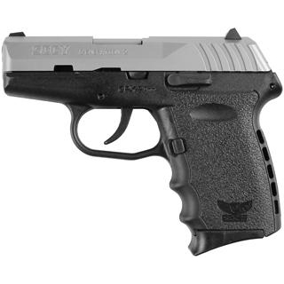 SCCY Industries CPX2TT CPX-2 Double 9mm 3.1 10+1 Black Polymer Grip|Frame Grip Stainless Steel in.