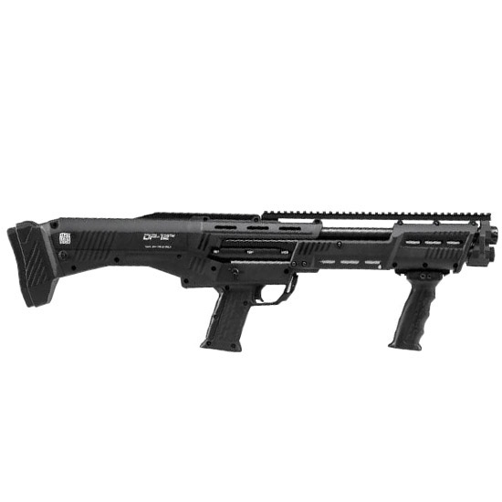 DP-12 Double Barrel Pump Repeater 12 Gauge Shotgun 16 Round Capacity Manufactured by Standard Manufacturing