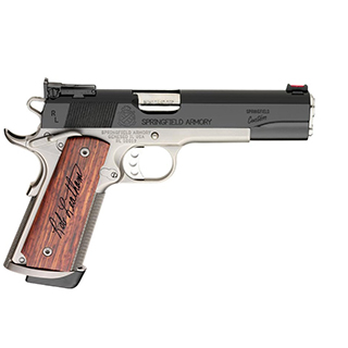 Springfield Legend Pistol PC9206, 45 ACP, 5 in, Wood Grips, Black Fini