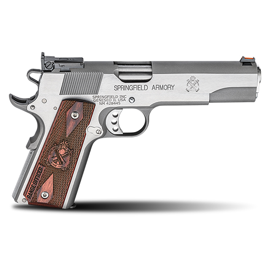Springfield Armory PI9122L 1911 Single 9mm 5 9+1 Cocobolo Grip Stainless Steel in.