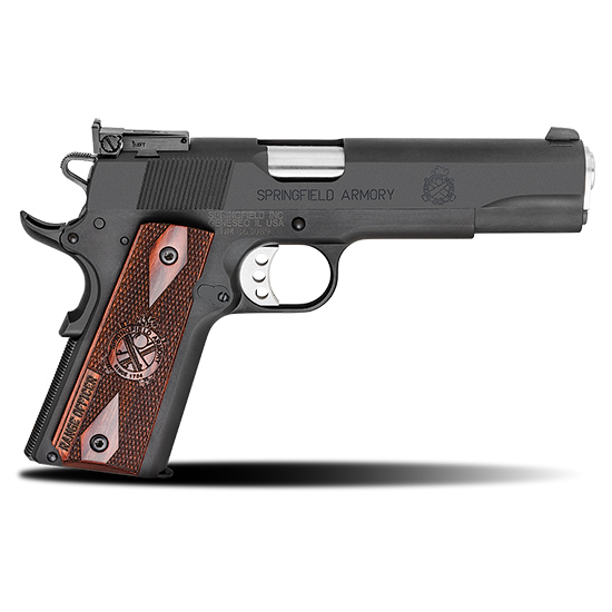 Springfield Armory PI9129L 1911 Range Officer 9mm Luger Single 5 9+1 Cocobolo Grip Black Parkerized Carbon Steel Frame Black Parkerized Slide in.
