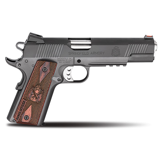 Springfield Armory PI9130L 1911 Range Officer Operator 9mm Luger Single 5 9+1 Cocobolo Grip Black Parkerized Carbon Steel Frame Black Parkerized Slide in.