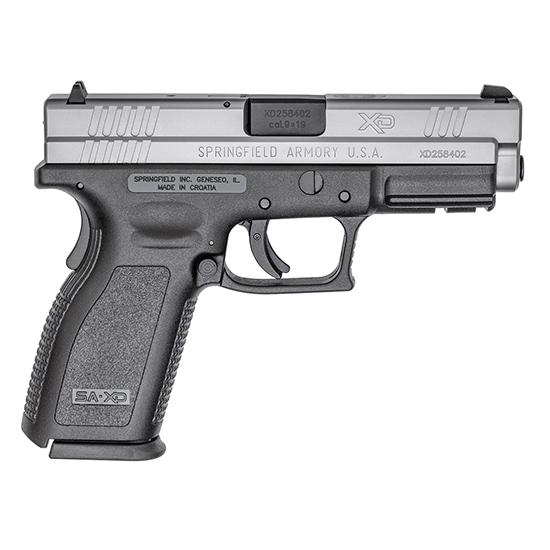 Springfield Armory XD9301 XD Service *CA Compliant* Double 9mm Luger 4 10+1 Black Polymer Grip Stainless Steel in.