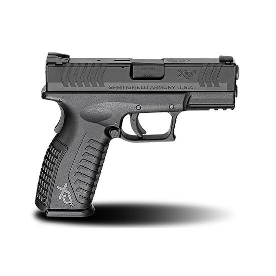 Springfield Armory XD(M) Full Size Semi Auto Handgun Black 9MM 3.8 inch 19 rd Black 9mm 3.8-inch 19Rds