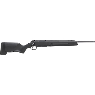 Steyr 26.346.3B Scout Bolt 308 Winchester|7.62 NATO 19 FB 5+1 Synthetic Black Stk Black in.