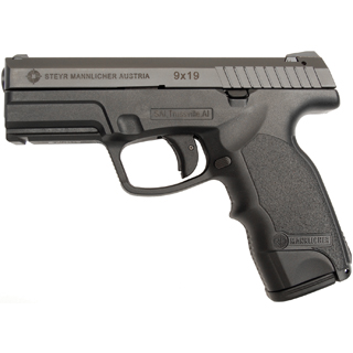 Steyr 39.723.2K M9-A1 Double 9mm 4 17+1 Black Polymer Grip in.