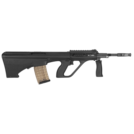 Steyr AUGM1BLKO AUG A3 M1 Semi-Automatic 223 Remington|5.56 NATO 16 30+1 1.5X Optic Synthetic Black Stk Black in.