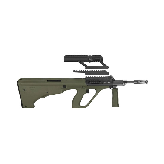 Steyr AUGM1GRNH AUG A3 M1 Semi-Automatic 223 Remington|5.56 NATO 16 30+1 High Rail Synthetic Green Stk Black in.